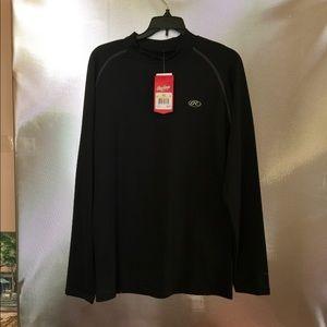 Men's Size L Rawlings Long Sleeve ProDri Shirt New